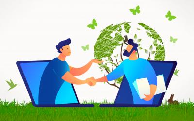 L'impact environnemental de la médiation en ligne